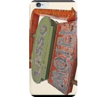 Lasso Motel, Route 66 iPhone Case/Skin