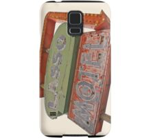 Lasso Motel, Route 66 Samsung Galaxy Case/Skin