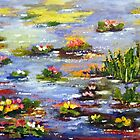 Water lilies by Halina Plewak