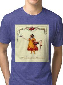 Vintage Valentine Messages Tri-blend T-Shirt