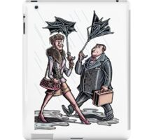 New Yorkers Cheap Umbrellas iPad Case/Skin