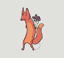 the fox has roses Unisex T-Shirt