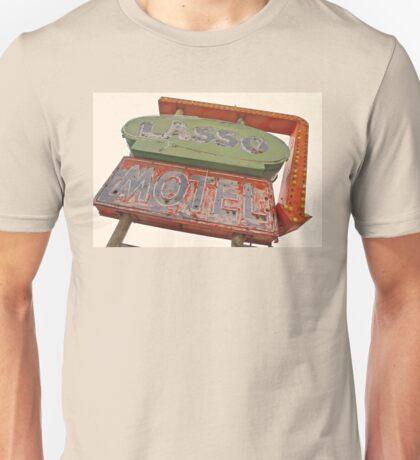 Lasso Motel, Route 66 Unisex T-Shirt