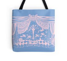 Moonlight Circus - Blue and Pink Tote Bag