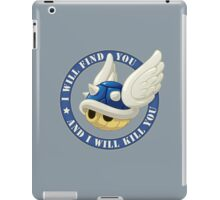Menacing Blue Shell iPad Case/Skin