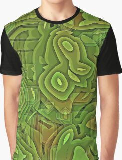 green nature abstract  Graphic T-Shirt