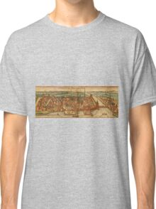 Konstanz Vintage map.Geography Germany ,city view,building,political,Lithography,historical fashion,geo design,Cartography,Country,Science,history,urban Classic T-Shirt