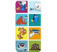 Finding Dory Characters iPhone Case/Skin