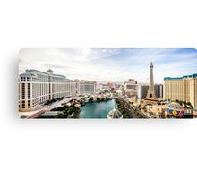Panorama of the Strip, Las Vegas, Nevada, USA Canvas Print