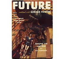 future combined with science fiction Photographic Print