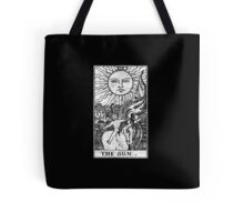 The Sun Tarot Card - Major Arcana - fortune telling - occult Tote Bag