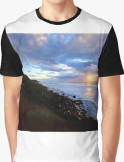 Sunrise Shelly Beach Ballina NSW Graphic T-Shirt