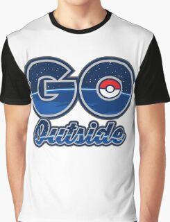 Pokemon Go Outside! Graphic T-Shirt
