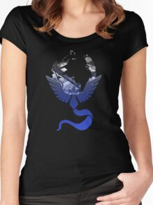 Team Mystic Pokemon GO Lets Go Women's Fitted Scoop T-Shirt