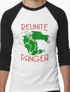 Funny Reunite Pangea Men's Baseball ¾ T-Shirt