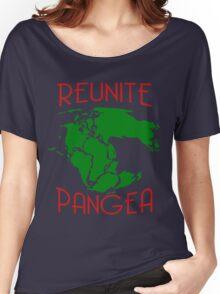 Funny Reunite Pangea Women's Relaxed Fit T-Shirt