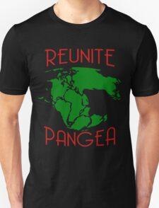 Funny Reunite Pangea Unisex T-Shirt