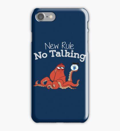 No Talking iPhone Case/Skin