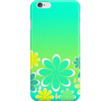 Friendly flowers iPhone Case/Skin