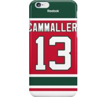 New Jersey Devils Michael Cammalleri Throwback Jersey Back Phone Case iPhone Case/Skin