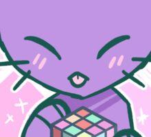 Puzzle Cat Sticker