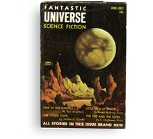 fantastic universe science fiction Canvas Print