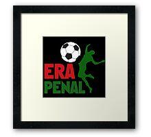 No Era Penal MX 2014 Framed Print