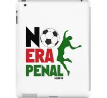 No Era Penal MX 2014 iPad Case/Skin