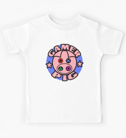 GAMER PIG Kids Tee