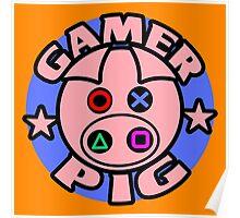 GAMER PIG Poster