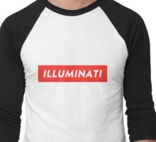 ILLUMINATI Baseball Tee Men's Baseball ¾ T-Shirt