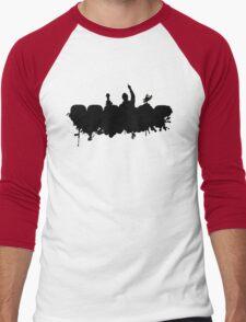 MST3K - Splatter Men's Baseball ¾ T-Shirt