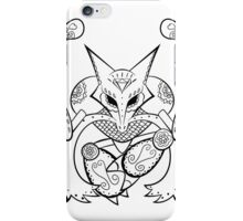 Alakazam de los Muertos | Pokemon & Day of The Dead Mashup iPhone Case/Skin