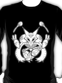 Alakazam de los Muertos   Pokemon & Day of The Dead Mashup T-Shirt