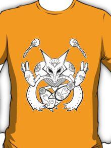 Alakazam de los Muertos | Pokemon & Day of The Dead Mashup T-Shirt