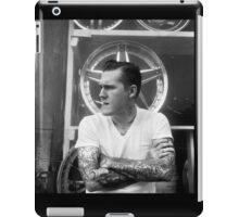 Brian Fallon Black & White iPad Case/Skin