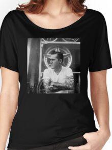 Brian Fallon Black & White Women's Relaxed Fit T-Shirt