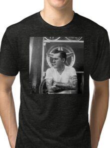 Brian Fallon Black & White Tri-blend T-Shirt