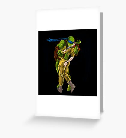 Victory Over Shredder Greeting Card