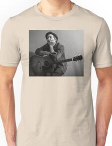 Brian Fallon Black & White 2 Unisex T-Shirt