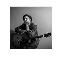 Brian Fallon Black & White 2 Photographic Print