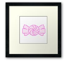 Pixel Candy Framed Print