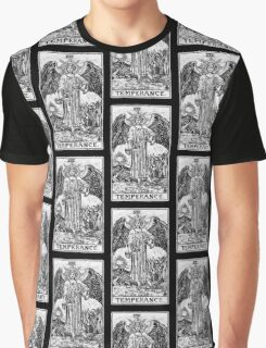 Temperance Tarot Card - Major Arcana - fortune telling - occult Graphic T-Shirt