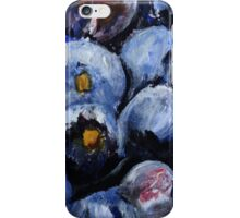 Blueberries Kitchen Decor Fruit Acrylic Contemporary Painting iPhone Case/Skin
