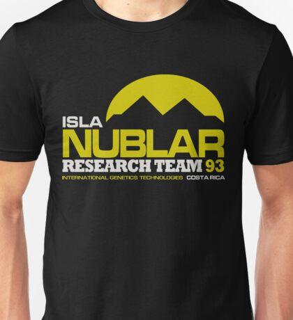 ISLA NUBLAR RESEARCH FACILITY Unisex T-Shirt