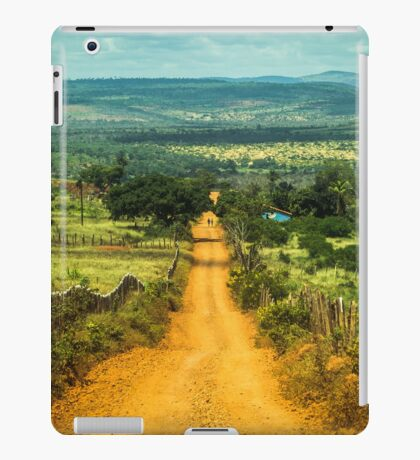 Rural road iPad Case/Skin