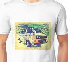 Retro wedge Unisex T-Shirt