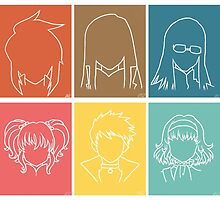 Tales of the Abyss Protags by ZeloWeirdo