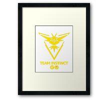Instinct Team - GO Framed Print