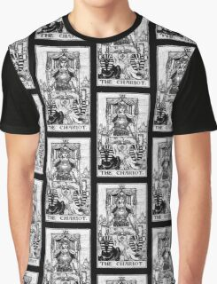 The Chariot Tarot Card - Major Arcana - fortune telling - occult Graphic T-Shirt